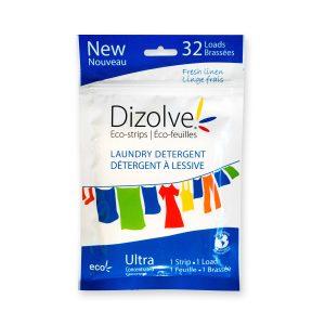 Dizolve Eco-Strips Laundry Detergent