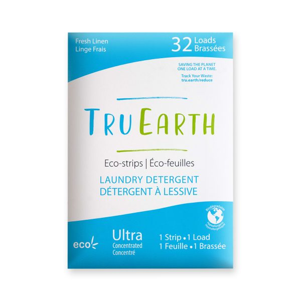 Tru Earth Eco-strips Laundry Detergent
