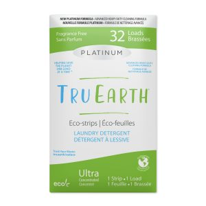 Tru Earth Platinum Eco-strips Laundry Detergent (Fragrance Free) - 32 Load