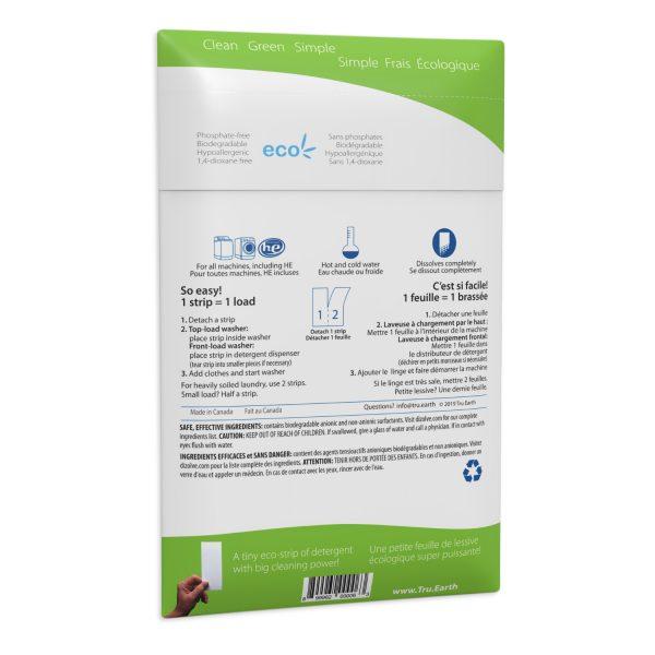 Tru Earth Platinum Eco-strips Laundry Detergent (Fragrance Free) - 64 Load
