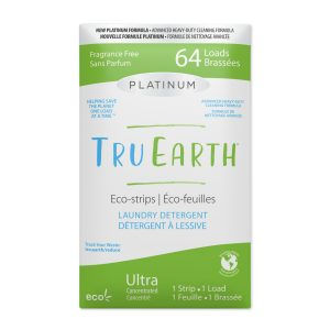 Tru Earth Platinum Eco-strips Laundry Detergent (Fragrance Free) - 64 Load