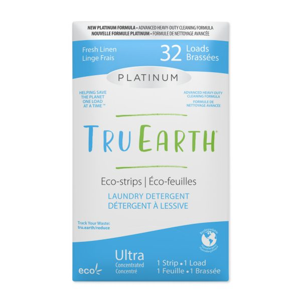Tru Earth Platinum Eco-strips Laundry Detergent (Fragrant) - 64 Load